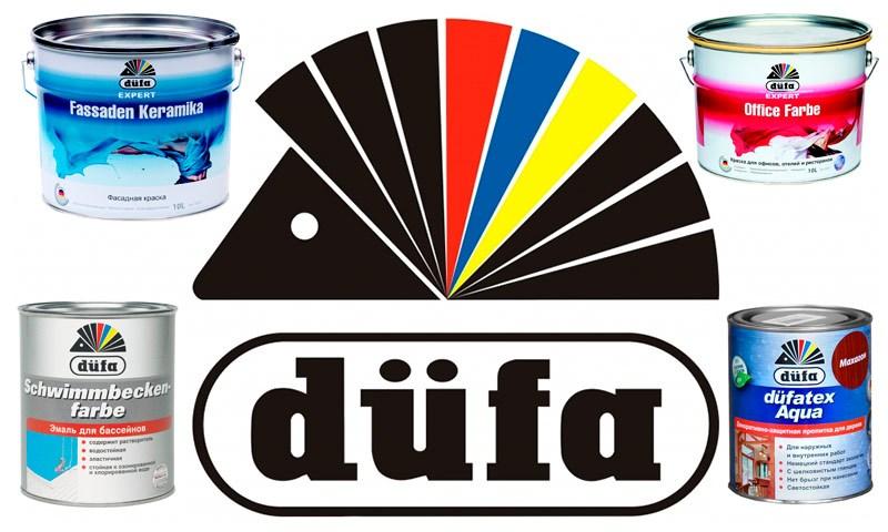 Краски Dufa