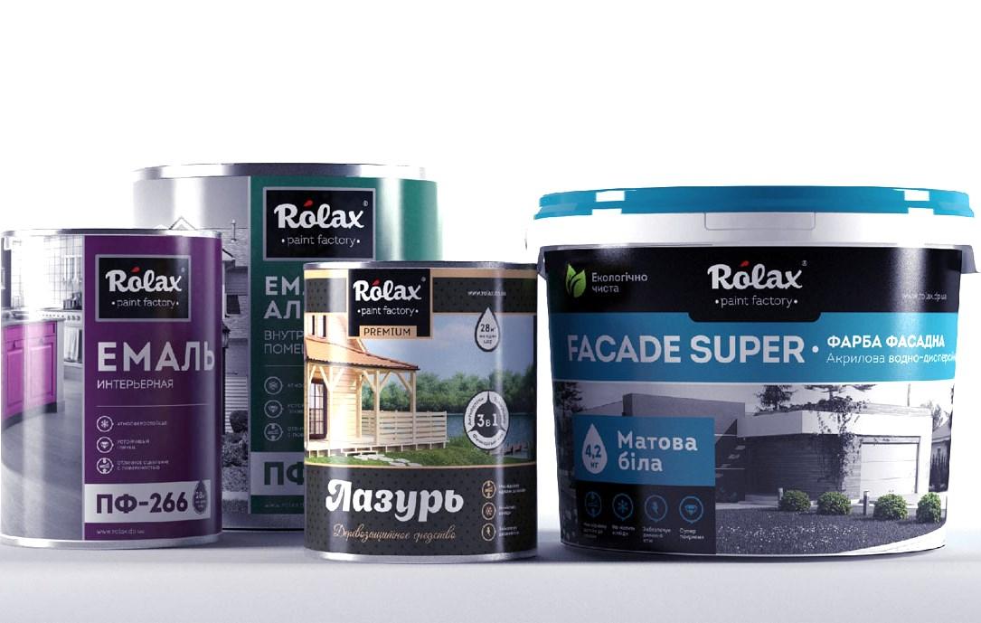 Краски Rolax